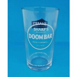 2 x Doombar 1/2 Pint Glasses 10oz Brand New 100% Genuine CE Stamped Official