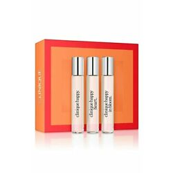 Clinique ''A Little Happiness'' set of 3 Perfumes Travel Size Happy Fragrance Line