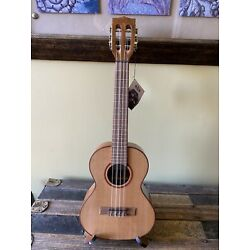 Kyпить Kala KA-ATP6-CTG Solid Cedar Top Series Tenor 6 String Ukulele w/ Aquila Strings на еВаy.соm