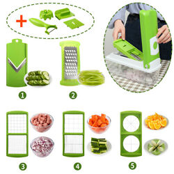 Kyпить 12 PC Super Slicer Plus Vegetable Fruit Peeler Dicer Cutter Chopper Nicer Grater на еВаy.соm