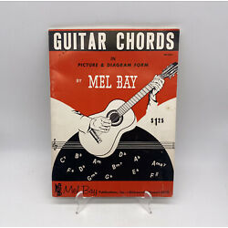 Kyпить 1959 Guitar Chords In Picture And Diagram Form Mel Bay Vintage Paperback на еВаy.соm