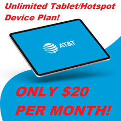 Kyпить AT&T UNLIMITED HOTSPOT PLAN $20/MONTH. YOURS TO OWN! на еВаy.соm