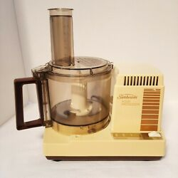 Kyпить Sunbeam Mixmaster Food Processor Vintage Model #84068 BAKING COOKING CHOPPING на еВаy.соm