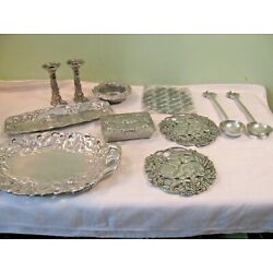 Kyпить Lot of  11 Easter Themed Pewter Serving Pieces на еВаy.соm