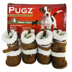 Pugz Shoes for Dogs Size 4 Medium By Hugs Pet Products Item 11002 Paws Tail
