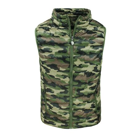 img-Jacket Mens Quilted Jacket Sleeveless Camouflage Military Casual Vest M To 3XL