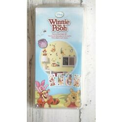 Winnie the Pooh Removable Peel and Stick Wall Art Decals 76 Stickers! NEW IN BOX