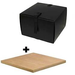 Motorcycle Scooter Food Pizza Delivery Top Box & Mounting Board Deliveroo -Small