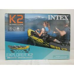 Kyпить INTEX EXPLORER K2 TWO-PERSON SIT-ON INFLATABLE KAYAK SET - AK 1586 на еВаy.соm