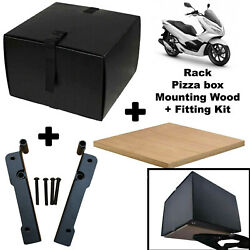 Honda PCX 125 Food Pizza Delivery Top Box Complete Kit Uber Deliveroo Just Eat