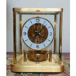 Kyпить Gorgeous Jaeger LeCoultre Atmos Clock 540 13 Jewels Serial 644307 *Not Running* на еВаy.соm