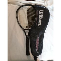 Kyпить WILSON SLEDGE HAMMER 3.4 STRETCH OUTER LIMITS TENNIS RACQUET 4 5/8 with CASE на еВаy.соm
