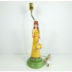 Kyпить vintage Atlantic Mold Ceramic Lady Lamp  на еВаy.соm