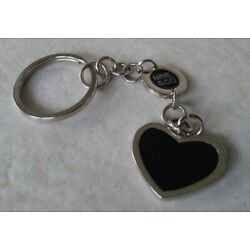 Kyпить Nine & Co Silver Black Heart Pendant Keychain Key Ring Women's Jewelry Gift  на еВаy.соm