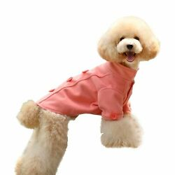 One Tail Four Paws Just The Peacoat Pet Coat, Medium, Congo Pink