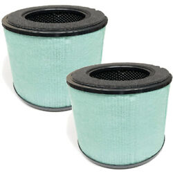 BS-08 True HEPA Filter Replacement For Partu BS-08 Air Purifier 2 Packs