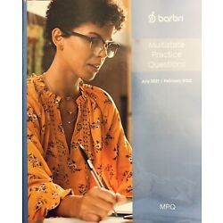 **BRAND NEW** 2021 ~ 2022 MOST RECENT BARBRI MBE PRACTICE QUESTIONS