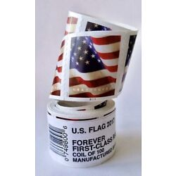 Kyпить 2017 Forever Stamps USPS Flag. SEALED ROLES, FAST / FREE SHIPPING !!! ???????? ???? на еВаy.соm