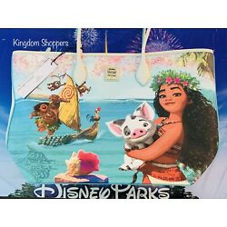 Kyпить 2021 Disney Parks Dooney & Bourke Moana Pua Maui Tote Purse Bag In Hand на еВаy.соm