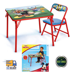 Kyпить Mickey Kids Table And Chair Set Junior Todlers Ages 2-5 Years 20
