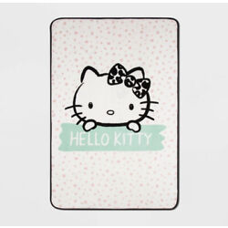 "Kyпить Sanrio Hello Kitty Fleece Blanket 62"" X 90"" на еВаy.соm"