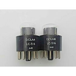 LC-516 DOLAM NUMERALS INDICATING  NIXIE TUBE NEW  LOT OF 1 Pcs.