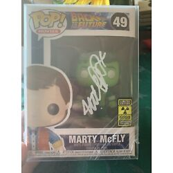 Kyпить FUNKO POP! MARTY MCFLY PLUTONIUM GITD PLASTIC EMPIRE LIMITED TO 200 SIGNED JSA на еВаy.соm