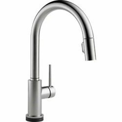 Kyпить Delta Trinsic 9159T-AR-DST Pull-Down Sprayer Kitchen Faucet With Touch2O на еВаy.соm