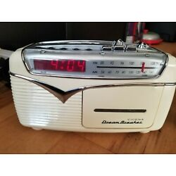 Kyпить Rare Vintage 70's Cicena Dream Breaker - Retro AM FM Cassette Alarm Clock Radio на еВаy.соm