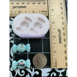 Candy Love Silicone mold Girls-kids-Fondant-Resin-Clay-Candy-Jewelery-craft
