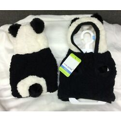 Top Paw Panda Fleece Hoodie for Dogs~ Choice of XS, S, M, L~ NEW with Tags!