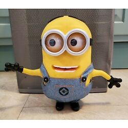 Kyпить DESPICABLE ME Minion Dave Interactive Talking Action Figure 55 Sayings Blinks  на еВаy.соm
