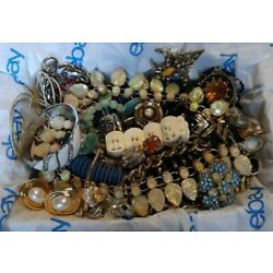 Kyпить Vintage To Now Estate Finds Jewelry Lot Great Resale All Wearable No Junk на еВаy.соm
