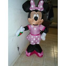 Kyпить Minnie Mouse Inflatable Holding Holly Berry Christmas Yard Decoration на еВаy.соm