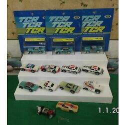 Kyпить NEW ON CARD 3 IDEAL TCR SLOTLESS HO SCALE JAM CARS  & 8 USED ONES на еВаy.соm