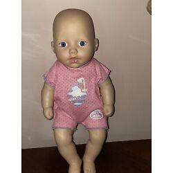 ZAPF CREATION *MY FIRST BABY ANNABELL SPLISH SPLASH DOLL IN PINK OUTFIT NEW