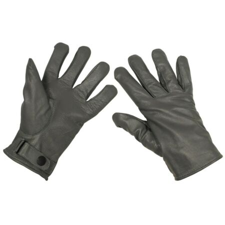 img-Bw Gloves Leather Gloves Grey Fed SIZE S - XXL