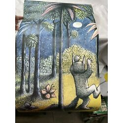 Pottery Barn Kids Where The Wild Things Are Mural Decal 3'x2.4'