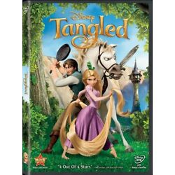 TANGLED DVD - Brand New - w/ Slipcover - Free Shipping