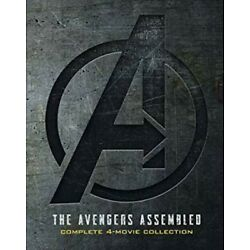 Marvel Avengers 1-4 (1 2 3 4) DVD Complete 4 Movie Collection Endgame Included
