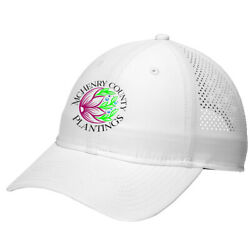 New Era Perforated Cap 50+ UV Protection Moisture Wick McHenry County Plantings