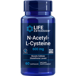 Life Extension (NAC) N-Acetyl-L-Cysteine 60Ct (Exp 10/22 or later)