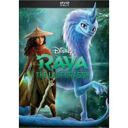 Raya and the Last Dragon (DVD, 2021)  - Brand New - Free Shipping