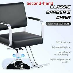 Secondhand Salon Hair Styling Chair Barber Chair Beauty Spa Equipment PU