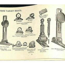 Scarce 1898 ''J. Stevens Arms and Tool Co.'' Catalog Chicopee Falls, MASS 80pp.