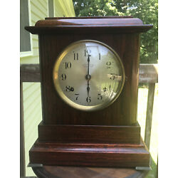 Antique SETH THOMAS Chime Clock ~ Four Bell ~ Sonora Chime Clock ~ c.a. 1914
