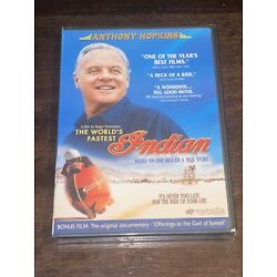 The World's Fastest Indian Anthony Hopkins  Action & Adventure DVD
