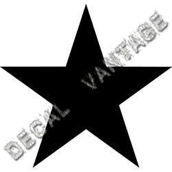 21'' Inch Star Vinyl Sticker Decal Astrological Night - Choose Color