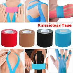 5M Kinesiology Tape Athletic Muscle Support Sport Elastic Physio Therapeutic