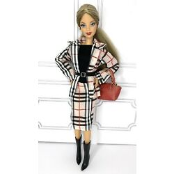 Eledoll CLOTHES Fashion Pack PLAID PERFECT Set With Boots Belt Purse